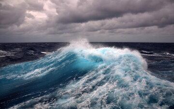 море, шторм, катастрофа