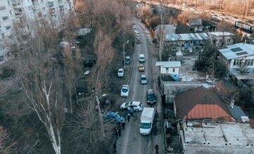 Жуткая авария произошла в Днепре, кадры с места ДТП: движение парализовано