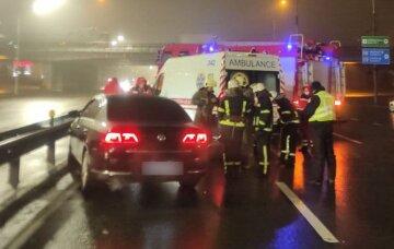 """Десятки аварий произошли в Киеве за короткое время, срочное обращение полиции: """"всему виной..."""""""