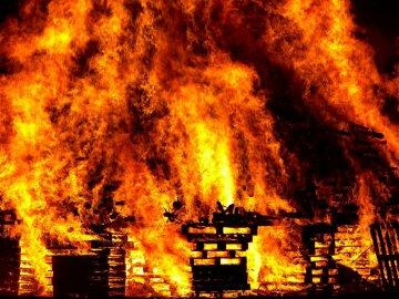 поджег пожар огонь