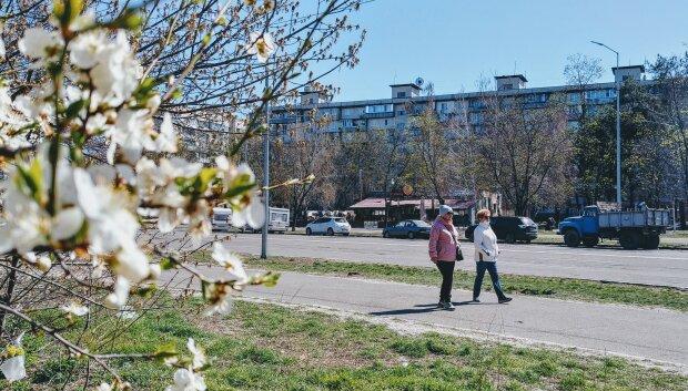 весна люди погода прогноз погоди квітень