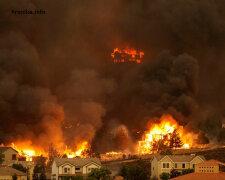 пожар Калифорния,