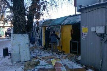 В Киеве «МАФопад» добрался до Бандеры (фото)