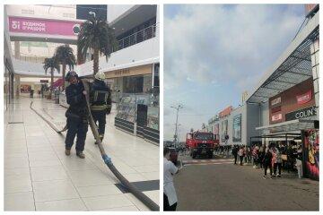 В торговом центре Одессы начался пожар,людей выводят на улицу: видео ЧП
