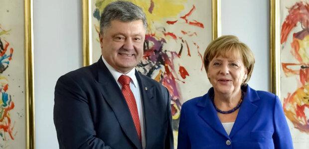 порошенко меркель украина германия фрг