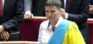 Савченко розповіла, чому не може відмовитися від звання Героя України