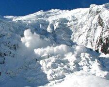 Снег-горы-лавина