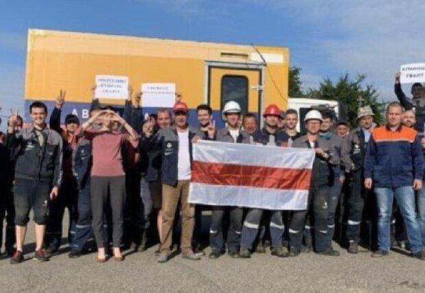 В Беларуси рабочих насильно заточили в цехах, кадры: подробности с места
