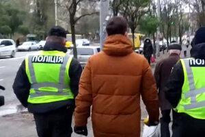полиция, украинцы, маски, штрафы