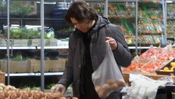 супермаркет, магазин, покупки, ціни, пластикові пакети