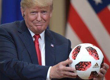 трамп мяч