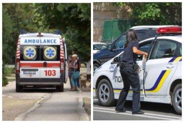 """Ребенка на самокате сбили на """"зебре"""" в Одессе: съехались медики и полиция"""