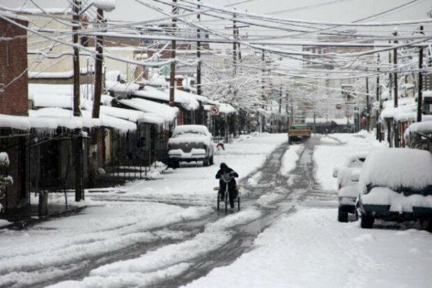 Мексика снегопады Reuters