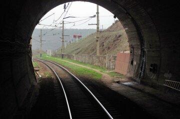 поезд рельсы железнодорожные пути