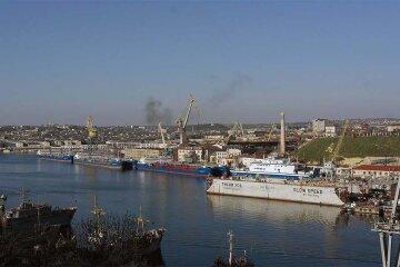 корабль крым санкции
