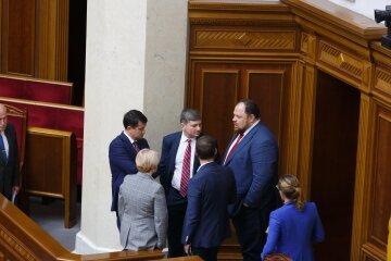 Руслан Стефанчук, Слуга народу, Рада