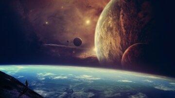 космос вселенная галактика
