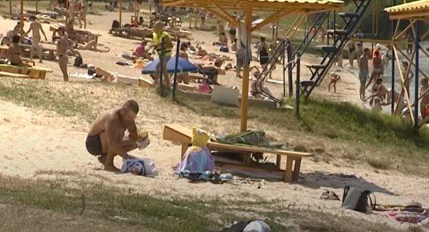 жара. пляж