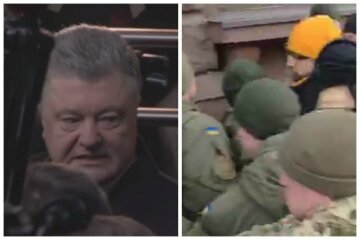 """Столкновения начались на допросе Порошенко, слугу народа чуть не разорвали: """"Стой!"""""""