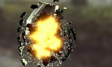 Семейные разборки закончились взрывом гранаты (фото)