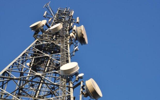 вишка, мобільний зв'язок
