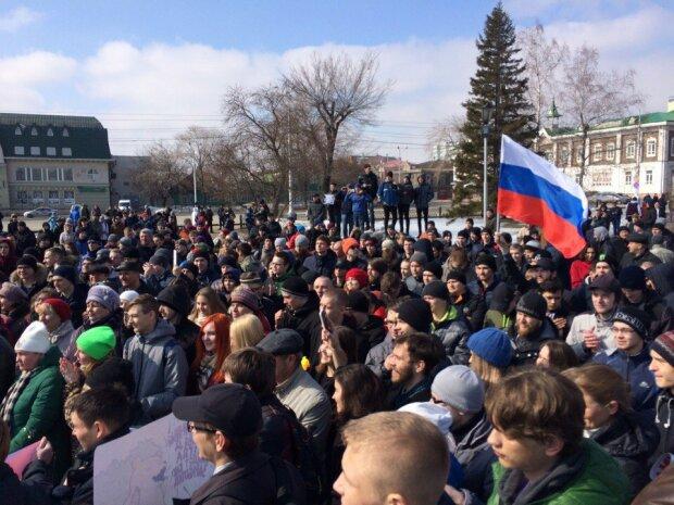 митинг Россия