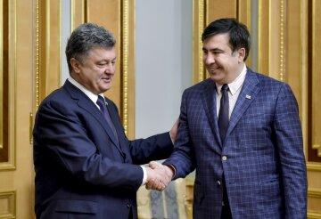 Петр Порошенко, Михаил Саакашвили