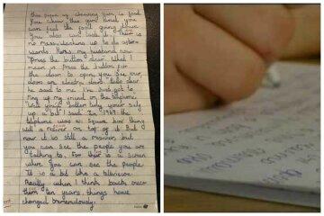 """Знайдено лист з точними передбаченнями майбутнього, збувалися одне за іншим: """"Дівчинка написала, що..."""""""