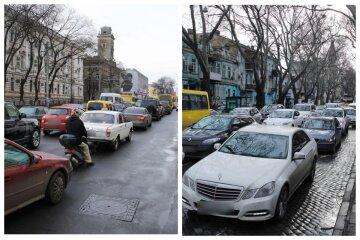 Транспортний колапс на дорогах Одеси, місто завмерло у заторах: красномовні кадри