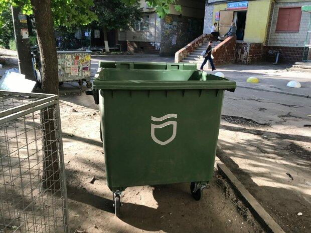 баки, мусор, Днепр