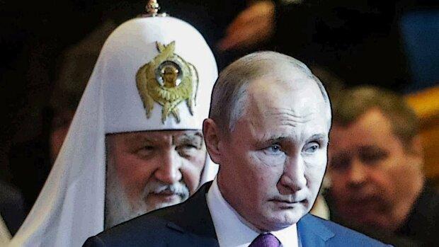 Владимир Путин, патриарх Кирилл