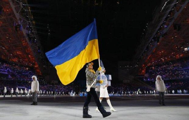 флаг Украины олимпиада