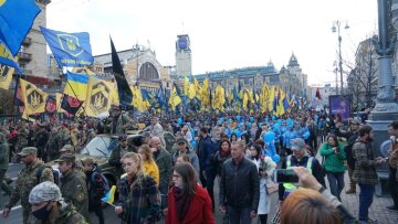 Марш Нації у Києві завершився оголошенням вимог до влади