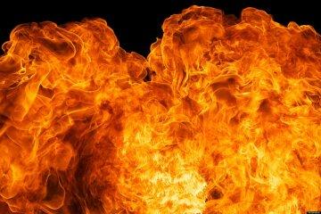 огонь, пламя, взрыв, пожар