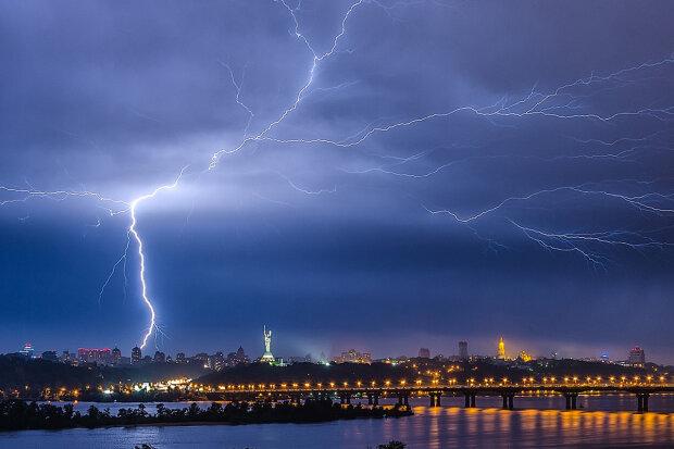 Штормове попередження в Києві, оголошено жовтий рівень небезпеки: коли чекати стихії