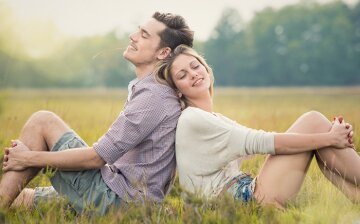 парень и девушка, пара