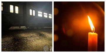 Вышла перед поездом: прогулка женщины по рельсам закончилась трагедией на Харьковщине, кадры