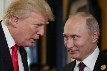 Трамп, Путин,