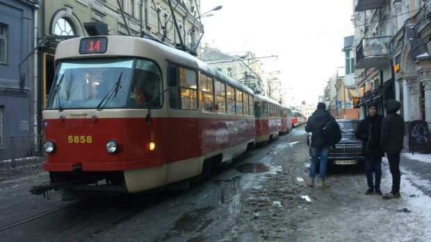 трамвай, киев