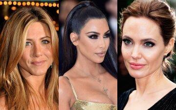 """Энистон, Джоли, Кардашьян и другие звезды, которых подловили без макияжа: """"заткнут за пояс 20-летних"""""""