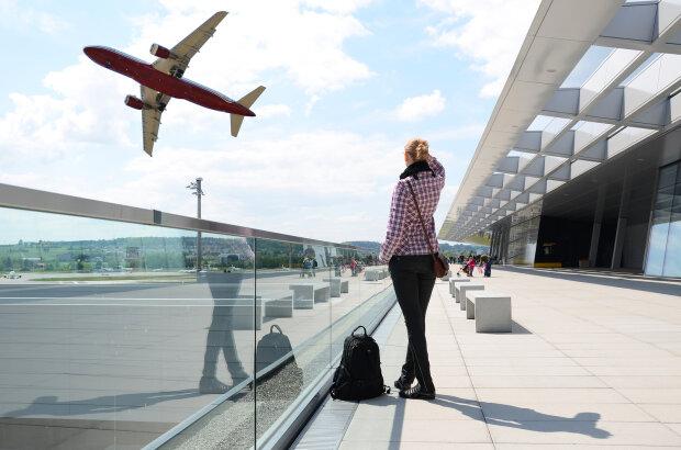аэропорт, самолет