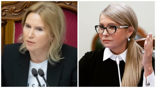 Вице-спикер Рады покрутилась перед Тимошенко в наряде за пять минималок: «Едва наскребла»