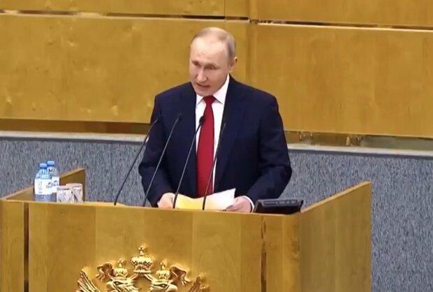 """Путін видав своє нутро безглуздим жартом у прямому ефірі, кадри ганьби: """"Гопники зібралися"""""""