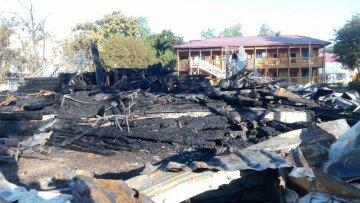 лагерь Виктория пожар
