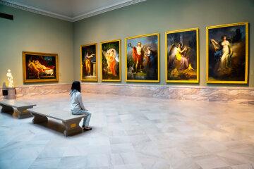 музей, картины