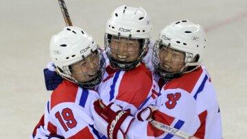 хоккей КНДР Северная Корея