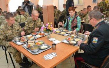 Украинская армия столовая