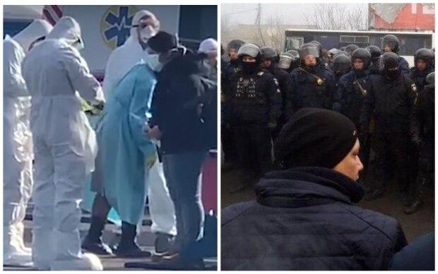 евакуація, українці