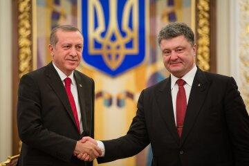 Раджеп Эрдоган, Петр Порошенко
