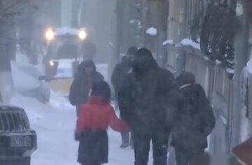 сніг, снігопад, хуртовина